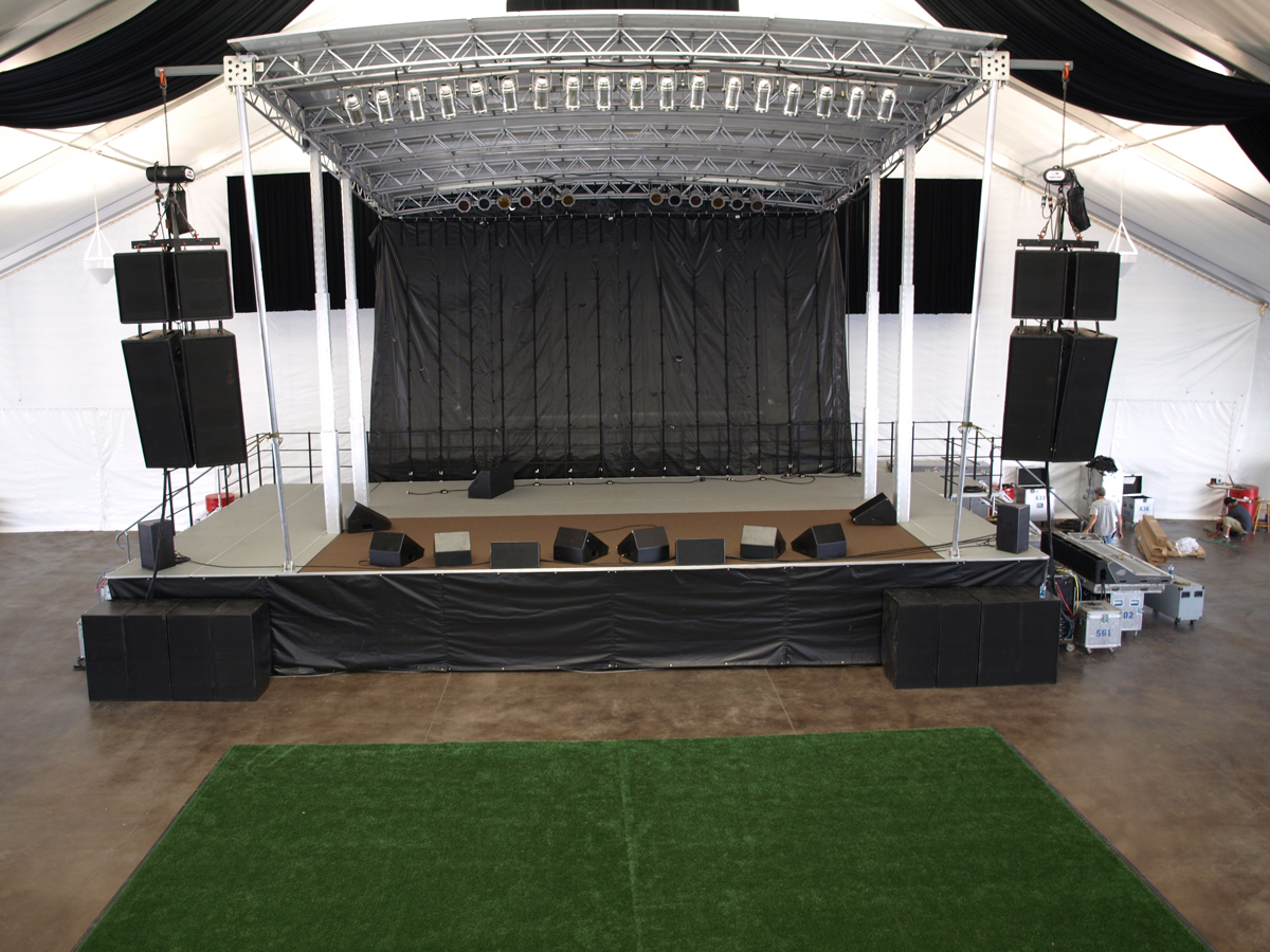 Mobile Stage Rentals Asi Music Group