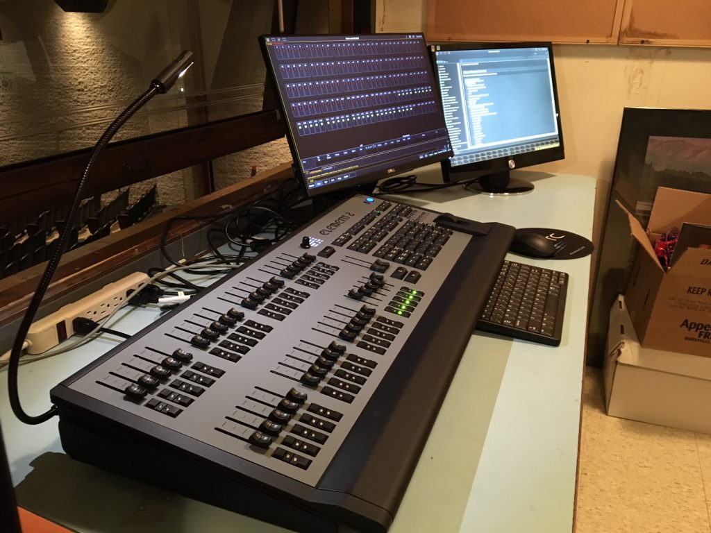New Lighting Console 02