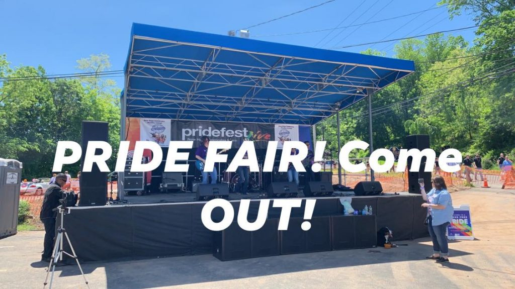 Pride fest stage